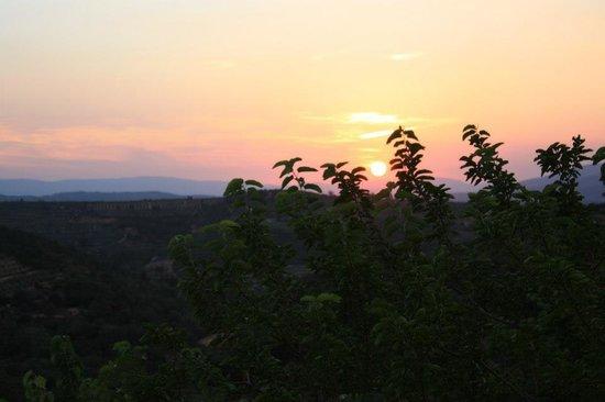 Villa Morelli: Perfect sunset...every night!!