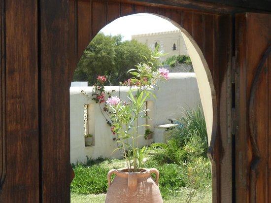 Dar Hamza Djerba: vue de la porte d'entrée