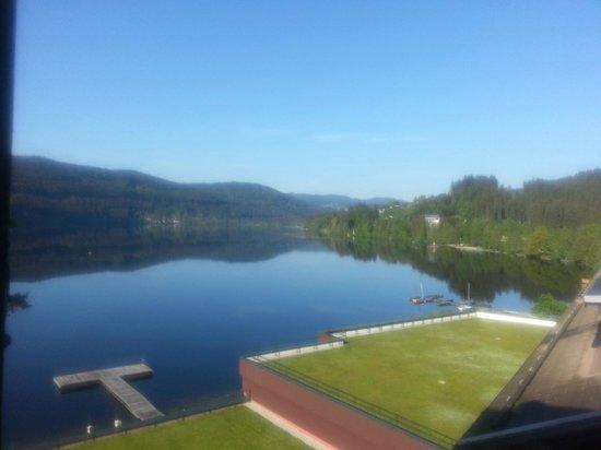 Treschers Schwarzwald Romantik Hotel : Aussicht aus dem Fenster III