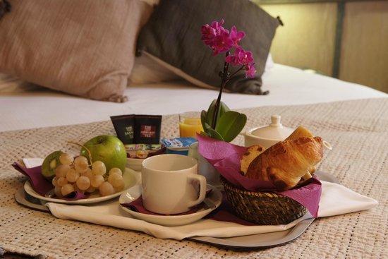 Hotel Ariana: petit-déjeuner continental