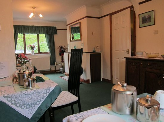 Ivy Lodge : breakfast room