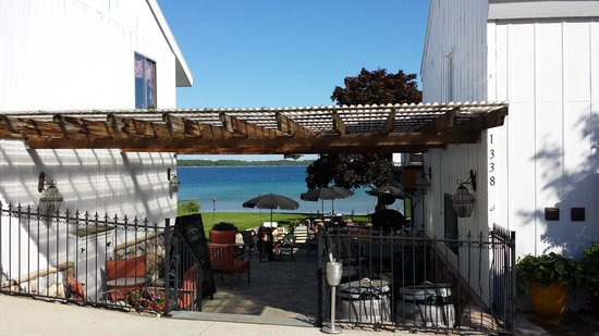 The Vineyard Inn: View from patio