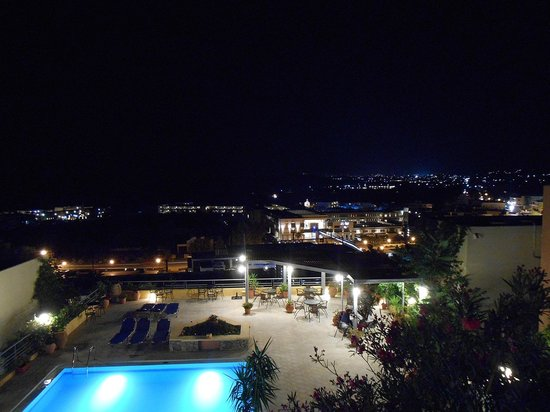 Aphea Village: The view at night