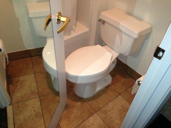 Holiday Inn Express Fayetteville: Small Bathroom