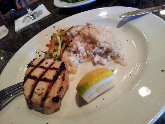 Vintage on 5th : Grilled Swordfish