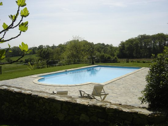 La Maison du Bos : piscine