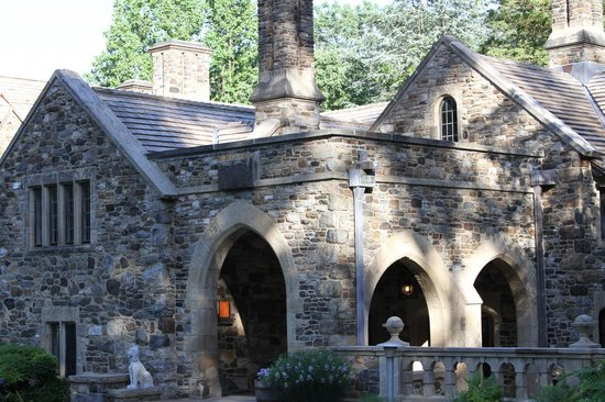 Ridley Creek State Park: The mansion