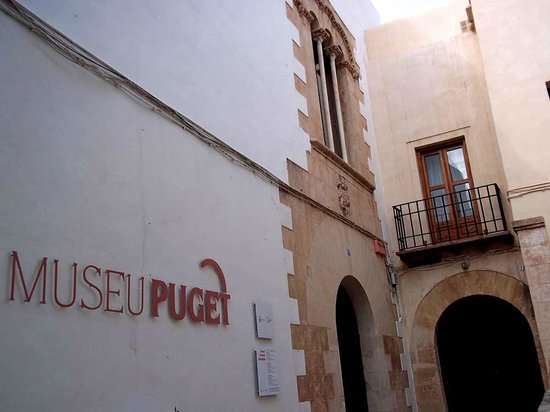Museo Puget: The entrance