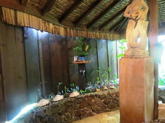 Rohotu Fare : Salle de bain de la Villa Premium
