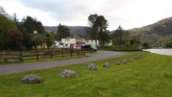 Gougane Barra Hotel: The view as your approach the hotel