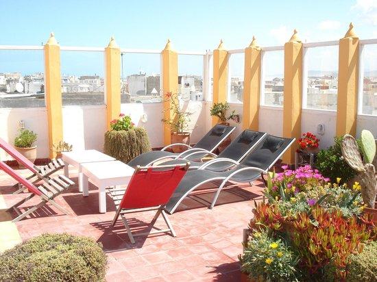 Dar Liouba : une terrasse que l'on bien utilisée