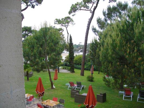 Hôtel Residence de Rohan : vue de notre chambre