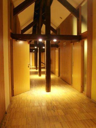 Hostel Celica: Couloir du deuxième étage