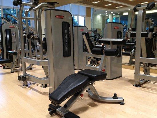The Shilla Jeju: The hotel gym.