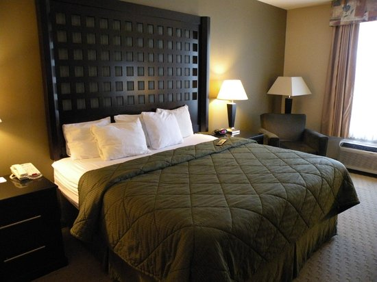 Quality Inn & Suites Durant: Comfy!!!