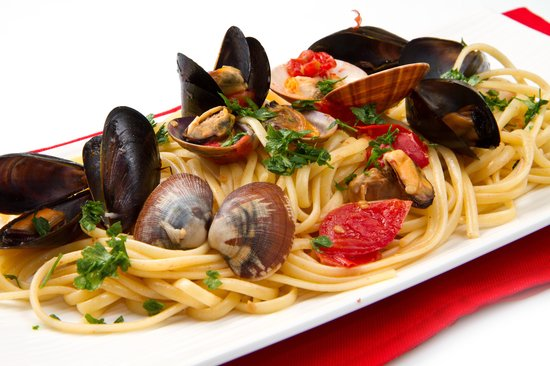 Spaghetti Frutti di mare - Picture of La Pasta Italiana ...
