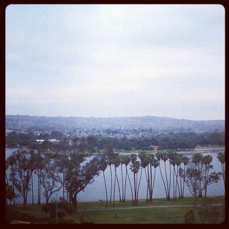 Hyatt Regency Mission Bay: Panoramic view from King corner suite