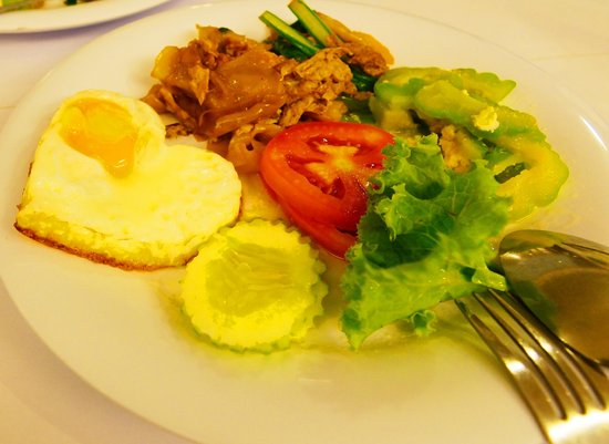 P2 Boutique Hotel: Simple Breakfast - Asian