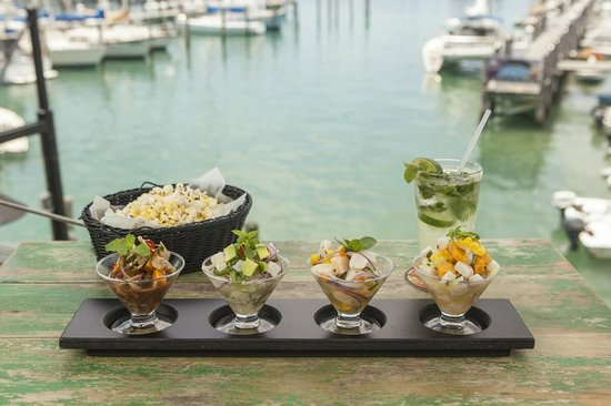 Turtle Kraals: Ceviche Sampler