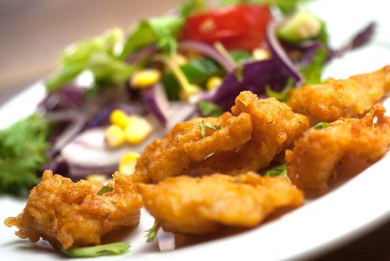 Luigikhan's: Fish Pakora