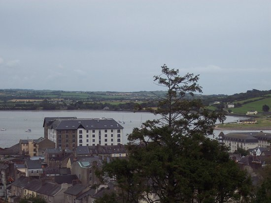 Landward Town Walls of Youghal: View from the wall