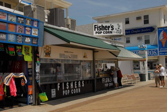 Fisher's Popcorn on the Boardwalk