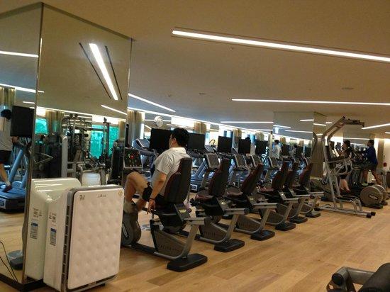 Lotte Hotel Seoul: The hotel gym.
