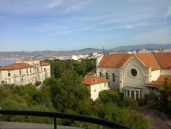Hôtel Le Grand Pavois : View from balcony in the morning