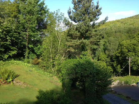 Coed Cae Bed & Breakfast: view from the breakfast room