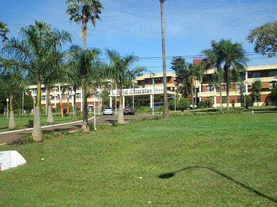Exe Hotel Cataratas: Vista de la entrada al hotel