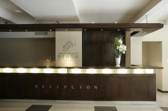 Hotel Presidente Peron: Recepcion