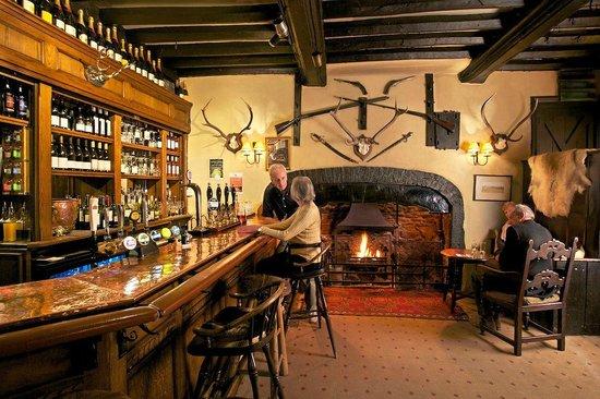 The Luttrell Arms: public bar