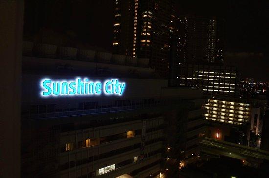 Tokyo Prince Hotel: 룸에서 내려다 본 풍경입니다.