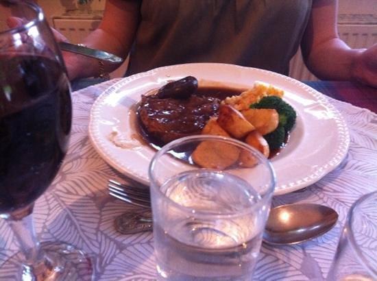 Columba House Hotel: Brisket Steak... mmmmm lovely