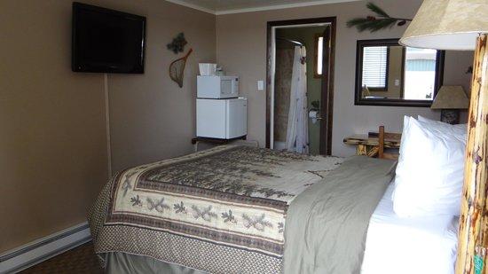 Evergreen Motel: la minuscule chambre