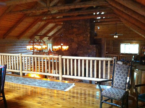 Inside Dancing Bear Lodge