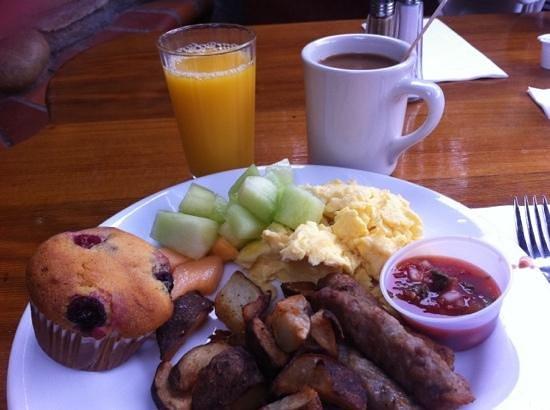 Cambria Pines Lodge Restaurant : superb breakfast!!!!