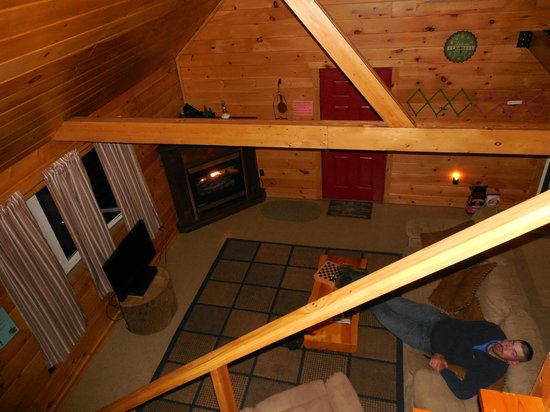 Campers Paradise: View from the loft.