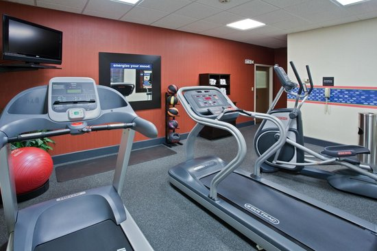 Hampton Inn Suites Springboro: Fitness Room