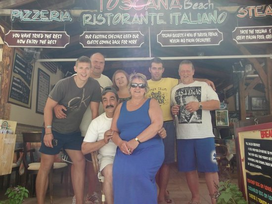 Toscana Beach: friendly and funny