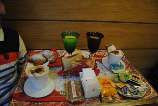 Locanda Antico Casin: colazione in camera