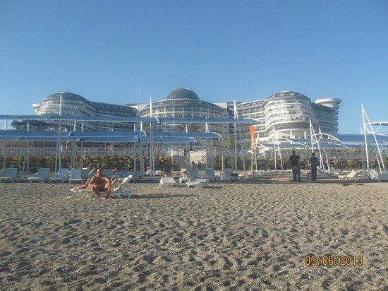 Sea Planet Resort & Spa: Hotel - beach view