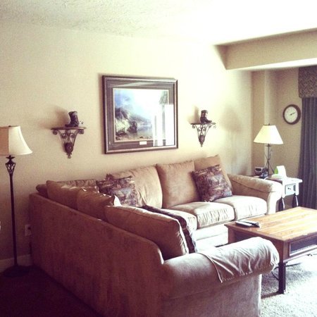 Shadow Ridge Resort Hotel: Living room