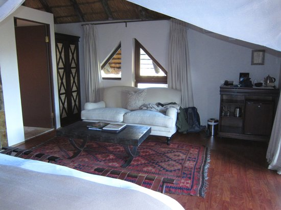 Bongani Mountain Lodge: Zimmer