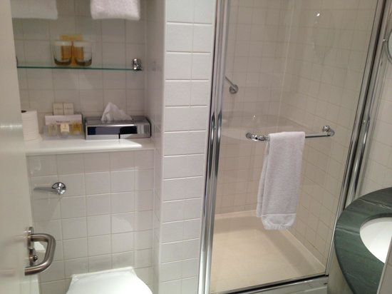 Hilton Garden Inn Bristol City Centre: Bathroom