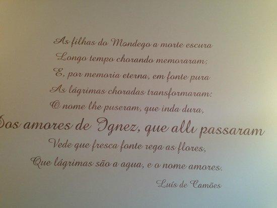 Hotel Quinta das Lagrimas: Detalhe do quarto