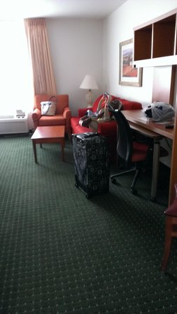 TownePlace Suites St. Louis Fenton : View when you first walk in