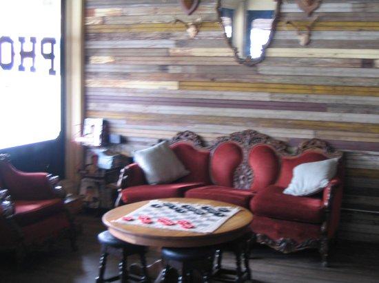 Phoenix Saloon: Sitting Area