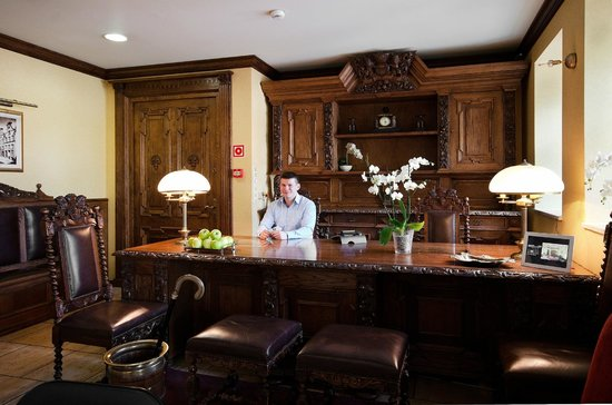Wolne Miasto Hotel- Old Town Gdansk: Reception desk