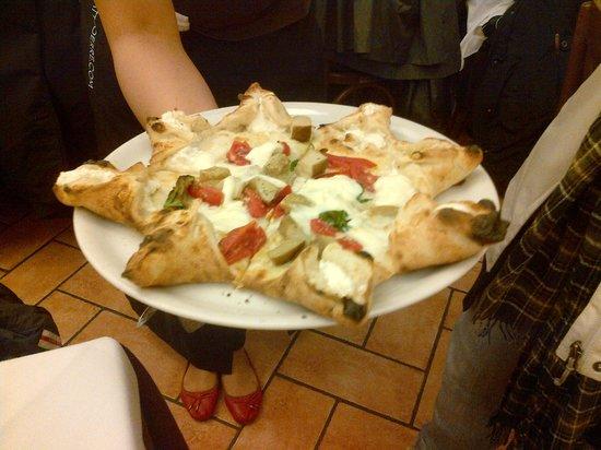 Triuggio, Italy: la pizza carnevale di Attilio Bachetti